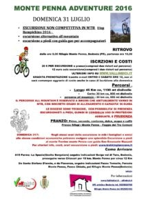 Monte Penna Adventure 2016